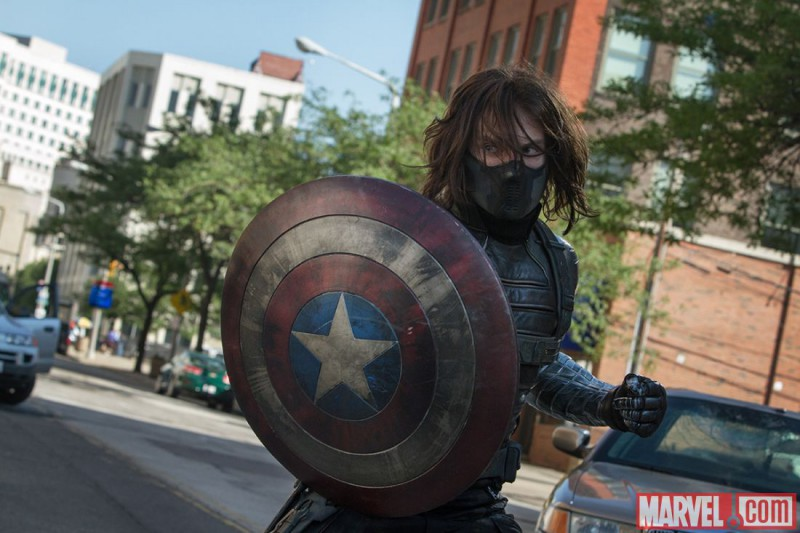 Sebastian Stan ve filmu Captain America: Návrat prvního Avengera / Captain America: The Winter Soldier