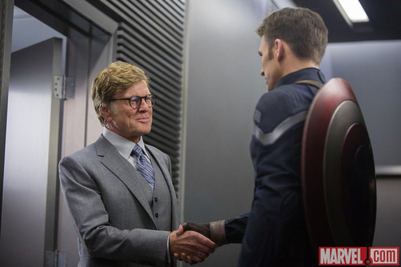 Robert Redford, Chris Evans ve filmu Captain America: Návrat prvního Avengera / Captain America: The Winter Soldier