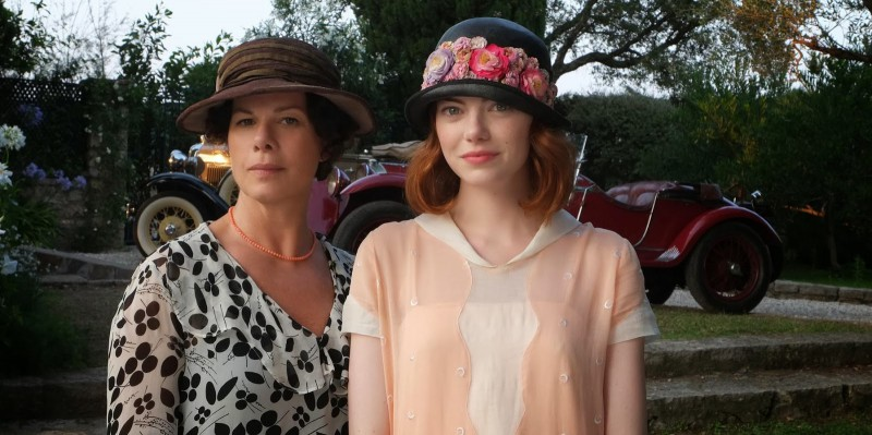 Emma Stone, Marcia Gay Harden ve filmu  / Magic in the Moonlight