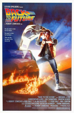 Plakát filmu Návrat do budoucnosti / Back to the Future
