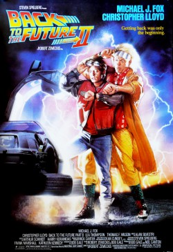 Plakát filmu Návrat do budoucnosti 2 / Back to the Future Part II