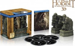 BD obal filmu Hobit: Šmakova dračí poušť / The Hobbit: The Desolation of Smaug