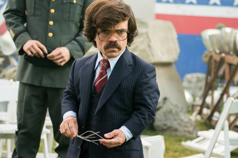 Peter Dinklage ve filmu X-Men: Budoucí minulost / X-Men: Days of Future Past