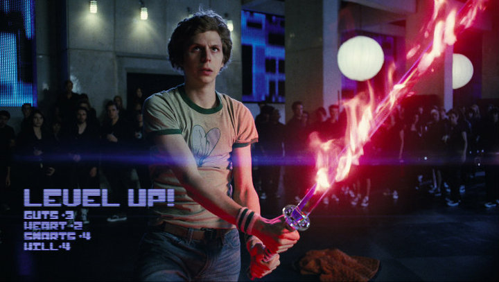 Michael Cera ve filmu Scott Pilgrim proti zbytku světa / Scott Pilgrim vs. the World