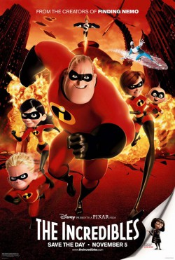 Plakát filmu Úžasňákovi / The Incredibles