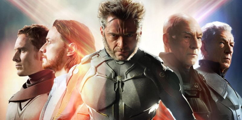 Banner filmu X-Men: Budoucí minulost / X-Men: Days of Future Past