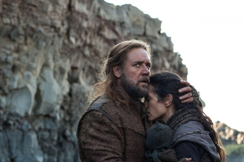 Russell Crowe, Jennifer Connelly ve filmu Noe / Noah