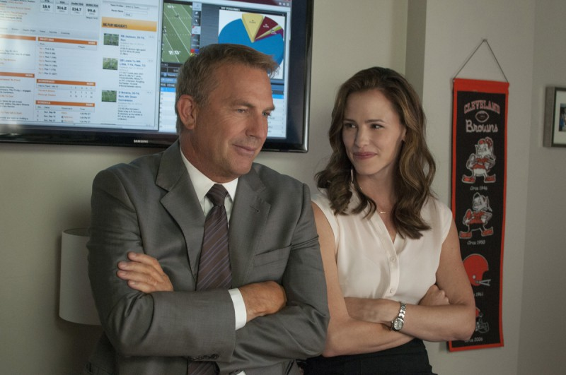 Jennifer Garner, Kevin Costner ve filmu  / Draft Day