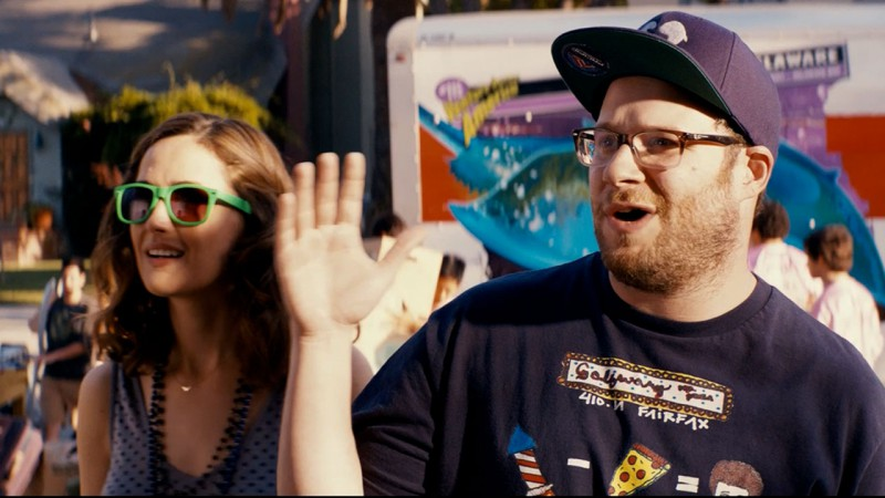Rose Byrne, Seth Rogen ve filmu Sousedi / Neighbors
