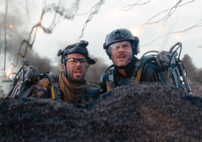 Kick Gurry, Bill Paxton ve filmu Na hraně zítřka / Edge of Tomorrow