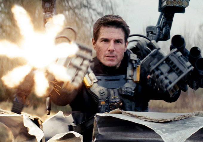 Tom Cruise ve filmu Na hraně zítřka / Edge of Tomorrow