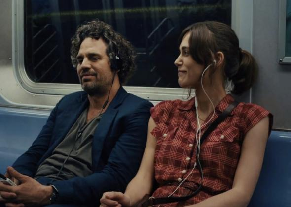 Mark Ruffalo, Keira Knightley ve filmu Love Song / Begin Again