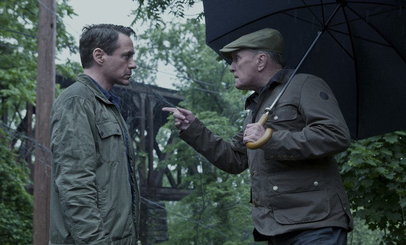 Robert Downey Jr., Robert Duvall ve filmu Soudce /
