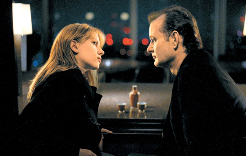 Scarlett Johansson, Bill Murray ve filmu Ztraceno v překladu / Lost in Translation