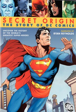 Plakát filmu Zrod komiksových superhrdinů / Secret Origin: The Story of DC Comics