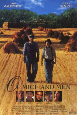 Plakát filmu O myších a lidech / Of Mice and Men