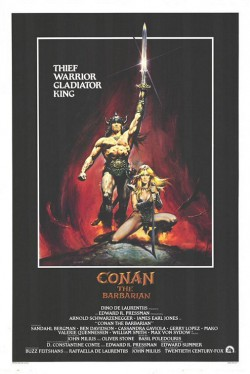 Plakát filmu Barbar Conan / Conan the Barbarian