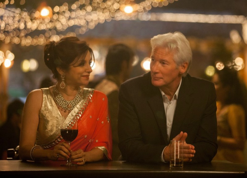 Richard Gere ve filmu Druhý báječný hotel Marigold / The Second Best Exotic Marigold Hotel
