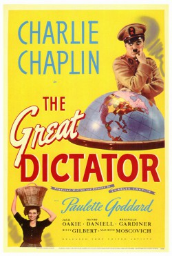Plakát filmu Diktátor / The Great Dictator