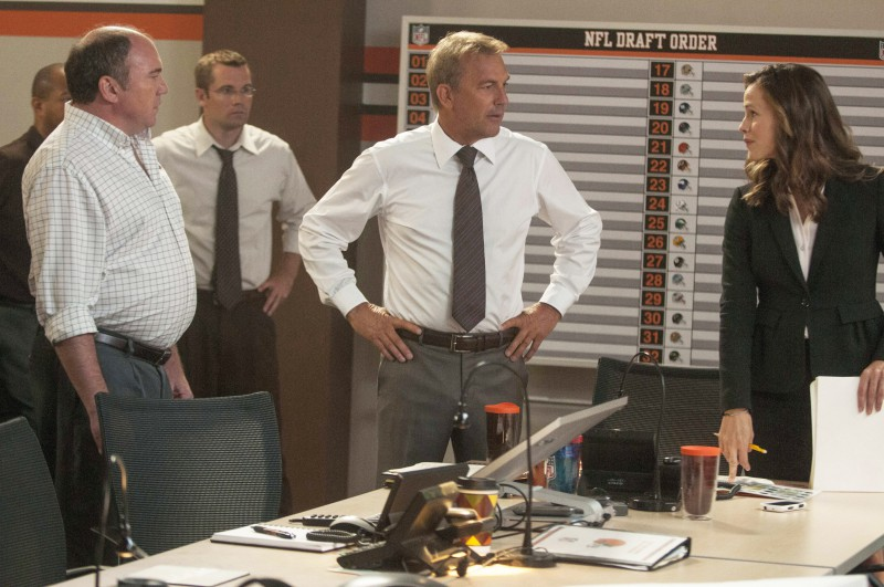 Kevin Costner, Jennifer Garner ve filmu  / Draft Day