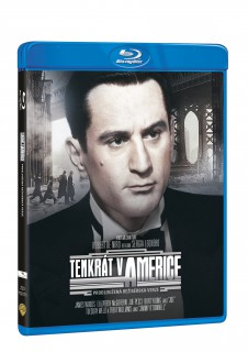 BD obal filmu Tenkrát v Americe / Once Upon a Time in America