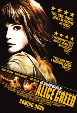 Plakát filmu Zmizení Alice Creedové / The Disappearance of Alice Creed