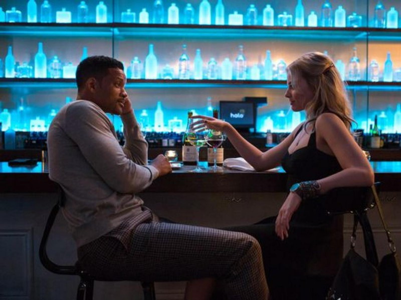 Will Smith, Margot Robbie ve filmu Focus / Focus