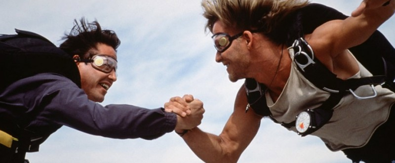 Keanu Reeves, Patrick Swayze ve filmu Bod zlomu / Point Break
