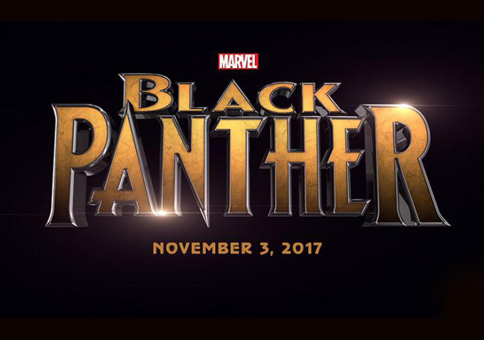 Logo filmu  / Black Panther