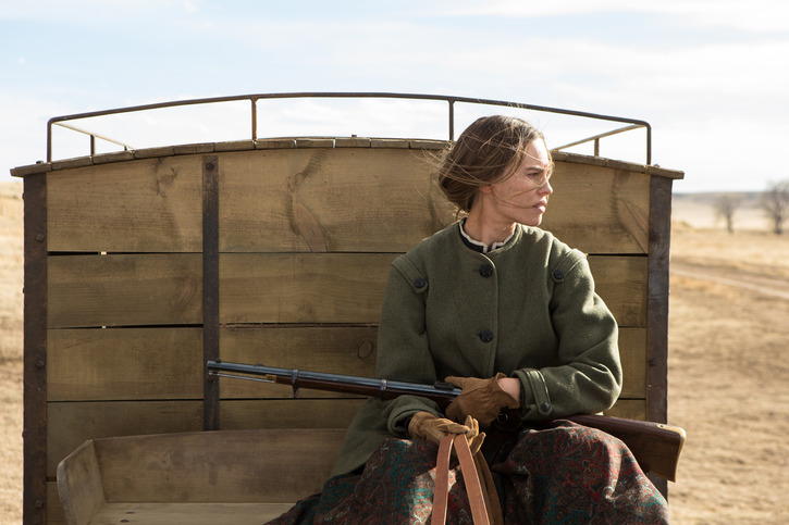 Hilary Swank ve filmu  / The Homesman