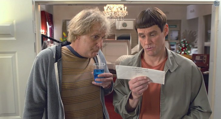 Jeff Daniels, Jim Carrey ve filmu Návrat blbýho a blbějšího / Dumb and Dumber To