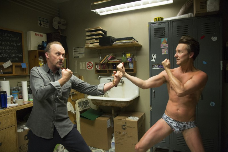 Michael Keaton, Edward Norton ve filmu  / Birdman