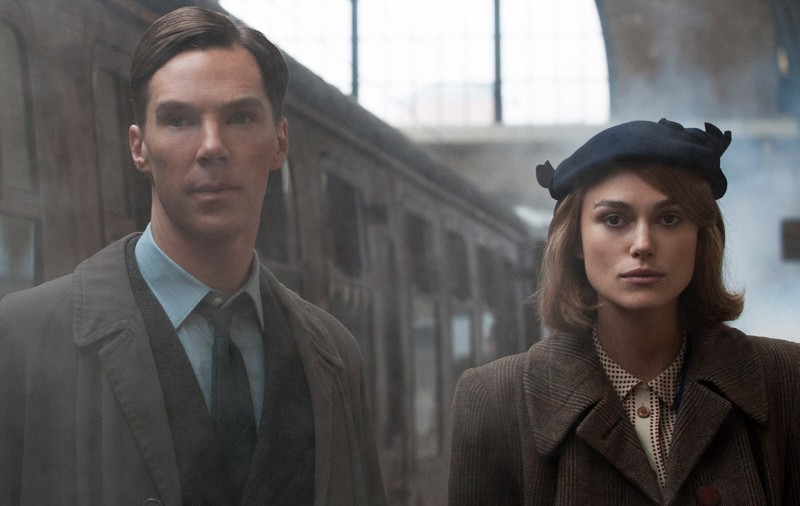 Benedict Cumberbatch, Keira Knightley ve filmu Kód Enigmy / The Imitation Game