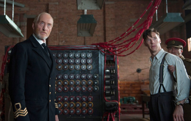 Charles Dance, Benedict Cumberbatch ve filmu Kód Enigmy / The Imitation Game