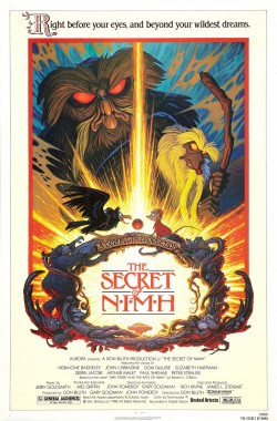 Plakát filmu Tajemství NIMH / The Secret of NIMH
