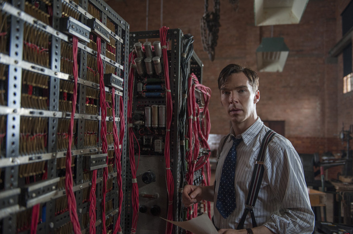 Benedict Cumberbatch ve filmu Kód Enigmy / The Imitation Game