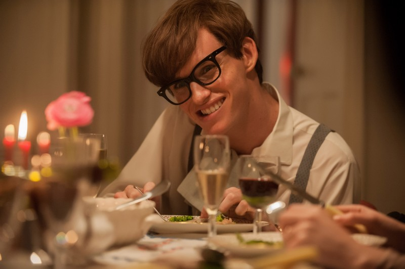 Eddie Redmayne ve filmu Teorie všeho / The Theory of Everything