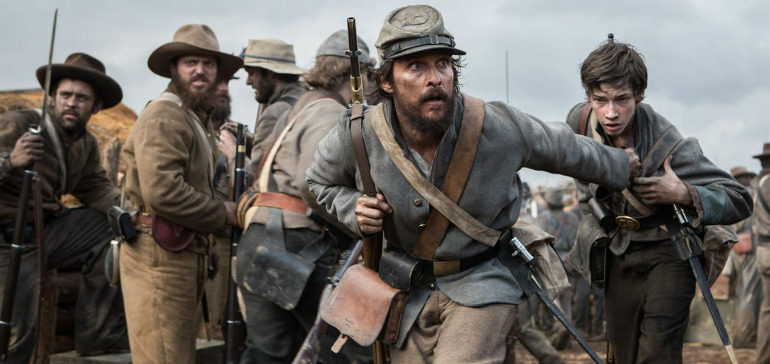 Matthew McConaughey ve filmu  / The Free State of Jones