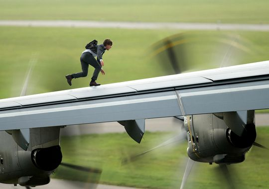 Tom Cruise ve filmu Mission: Impossible - Národ grázlů / Mission: Impossible - Rogue Nation