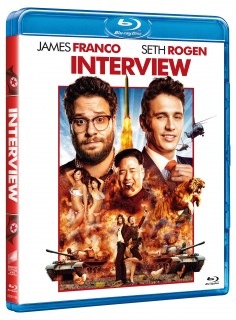 BD obal filmu  / The Interview