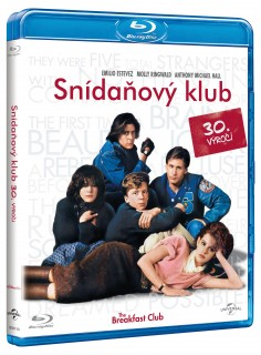 BD obal filmu Breakfast Club / The Breakfast Club