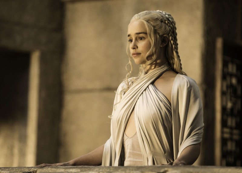 Emilia Clarke ve filmu Hra o trůny / Game of Thrones