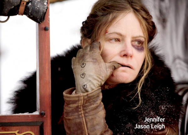 Jennifer Jason Leigh ve filmu Osm hrozných / The Hateful Eight