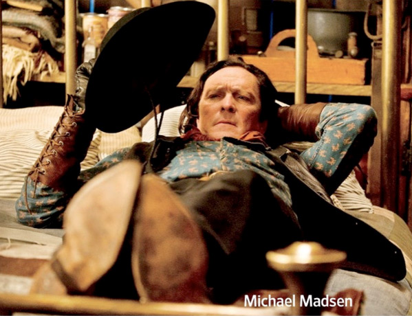 Michael Madsen ve filmu Osm hrozných / The Hateful Eight