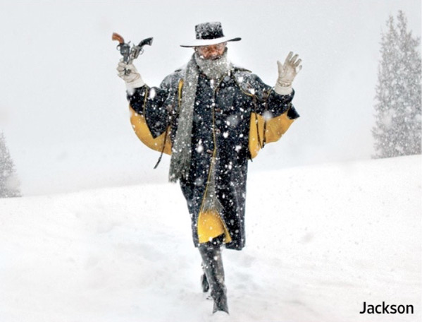 Samuel L. Jackson ve filmu Osm hrozných / The Hateful Eight