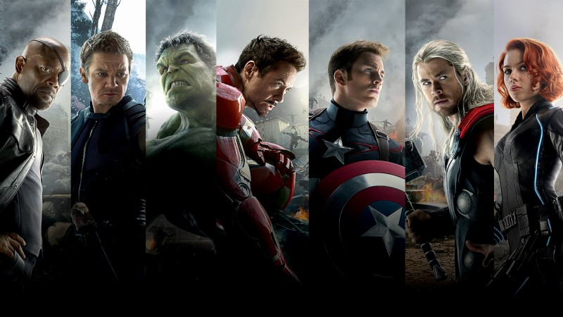 Wallpaper filmu Avengers: Age of Ultron / Avengers: Age of Ultron