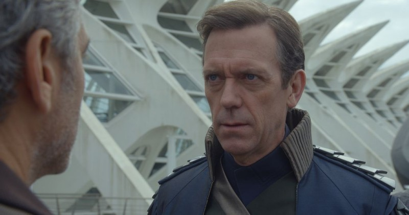 George Clooney, Hugh Laurie ve filmu Země zítřka / Tomorrowland