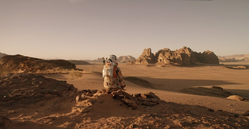 Fotografie z filmu Marťan / The Martian
