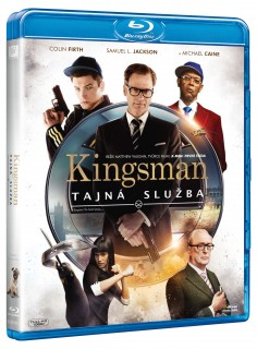 BD obal filmu Kingsman: Tajná služba / Kingsman: The Secret Service