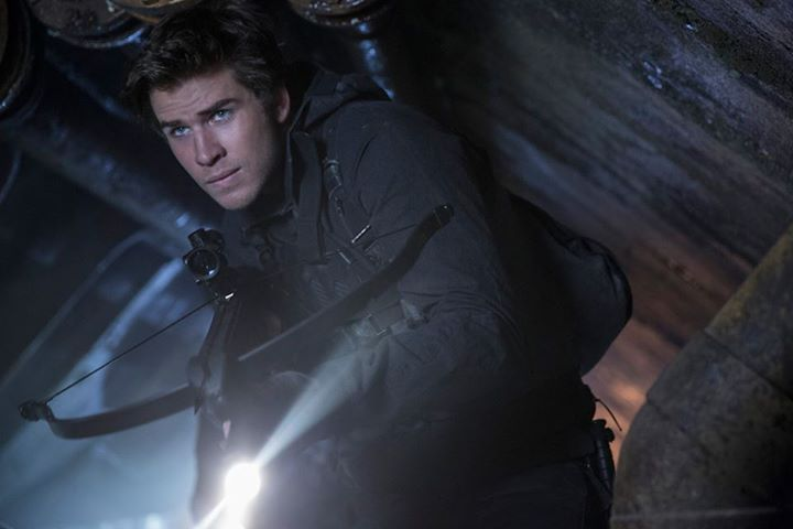 Liam Hemsworth ve filmu Hunger Games: Síla vzdoru 1. část / The Hunger Games: Mockingjay - Part 1